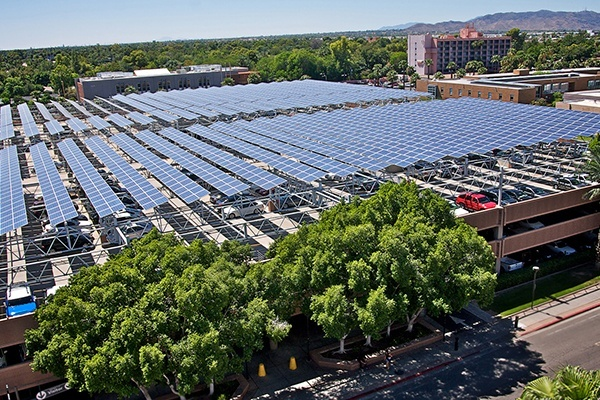 Solar Panels for Parking Lots