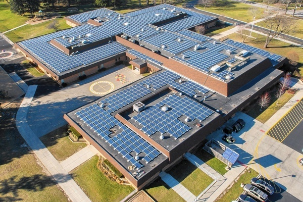 Solar Panels for School Buildings